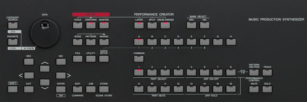 Yamaha mox8 инструкция