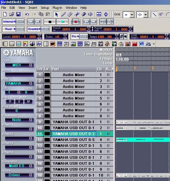 Yamaha Expansion Voice editor